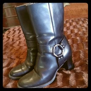 Tommy leather boots